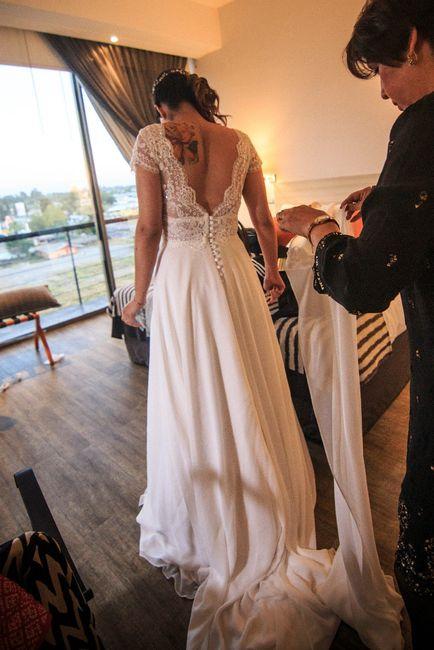 Vestido maravilloso! Santo Encanto!