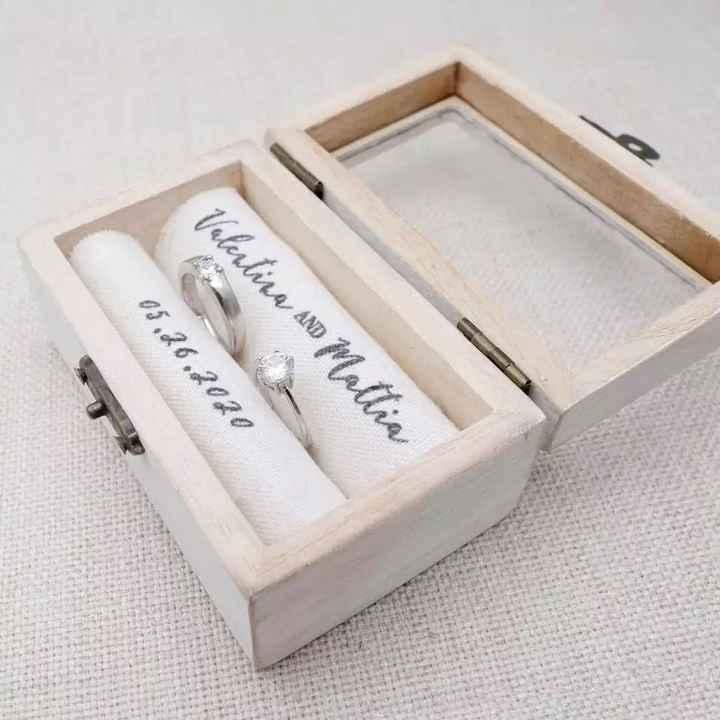 Caja para los anillos 💍 - 4