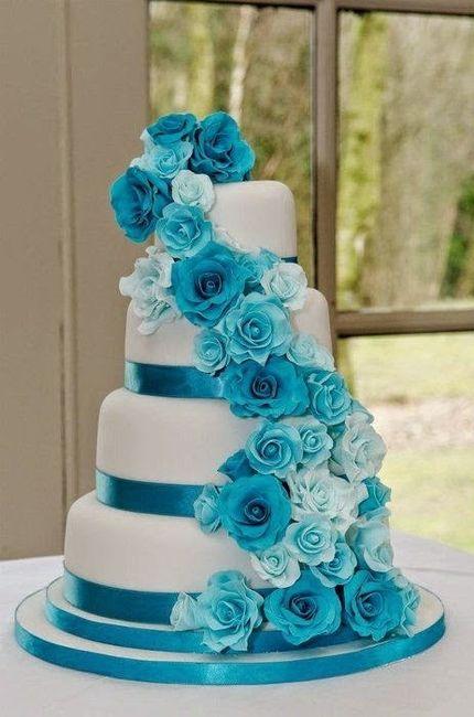 Pastel de bodas - 1