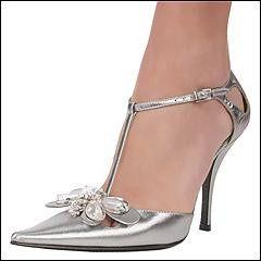 36280e959b91c Especial zapatos - zapatos plateados