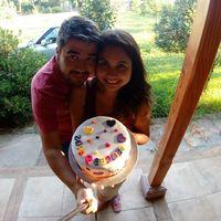 Nuestra tortita de aniversario - 1