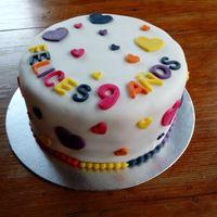 Nuestra tortita de aniversario - 2