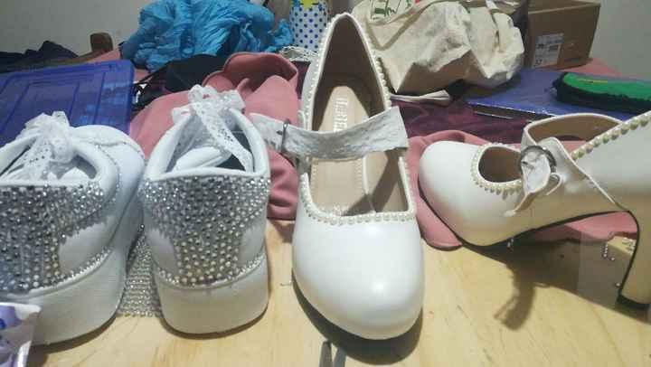 Zapatos en procesl - 2