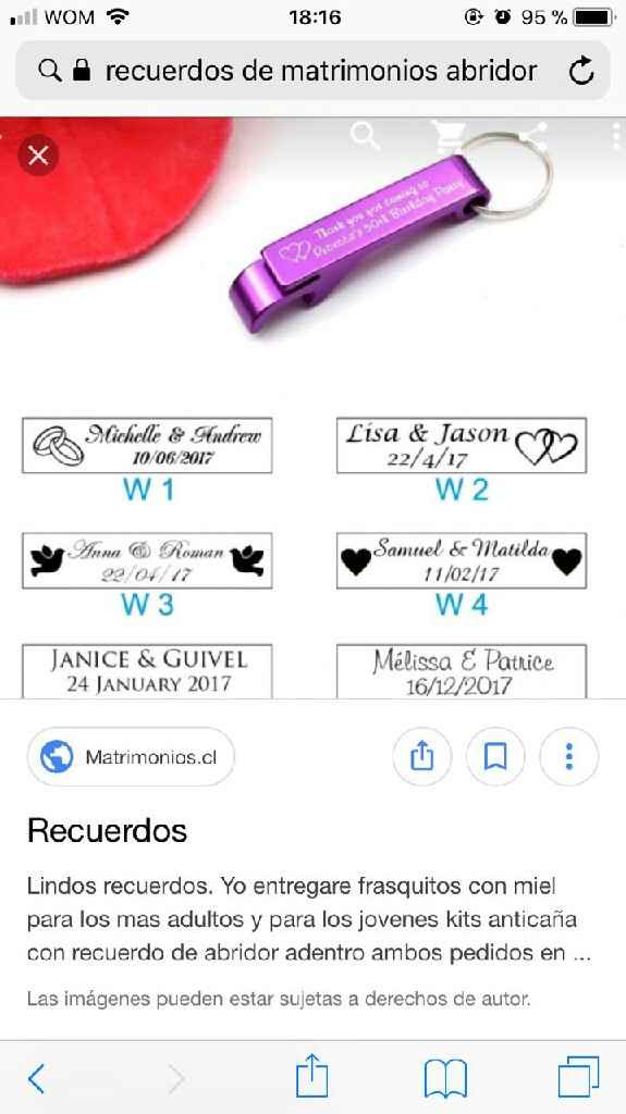 Recuerdos matrimonios - 1