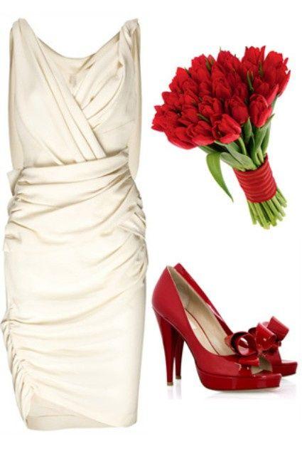 Zapatos de novia Rojo 2