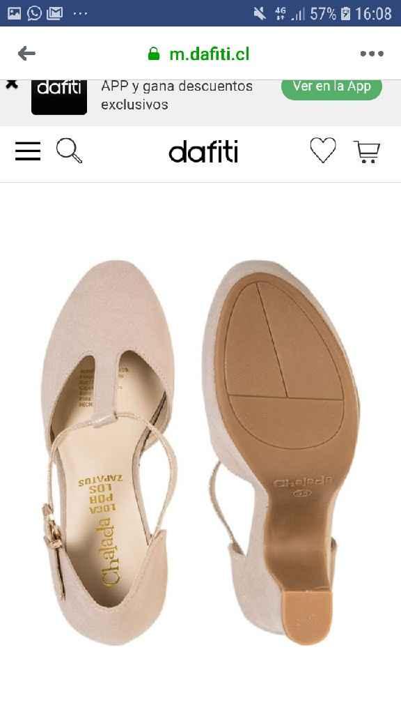 Dato zapatos Novia - 2