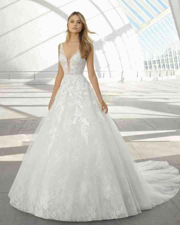Feña y me casaría feliz con este vestido - 1
