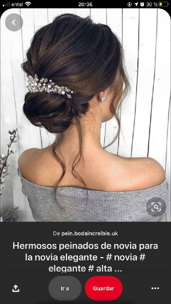 Mis favoritos para el gd son los peinados de novia 😍 - 1