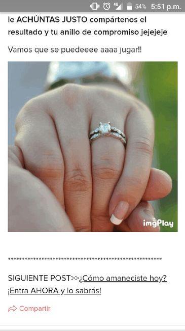 Achúntale al anillo y...¡compártenos el TUYO!💍 4