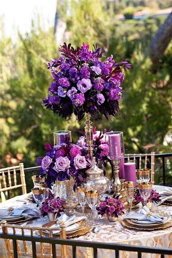 Inspiraciones bodas en Morado - 1