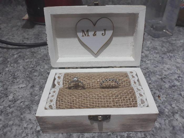 Caja para los anillos 💍 1