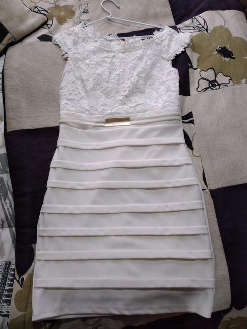 Para el civil: mi vestido será... 1