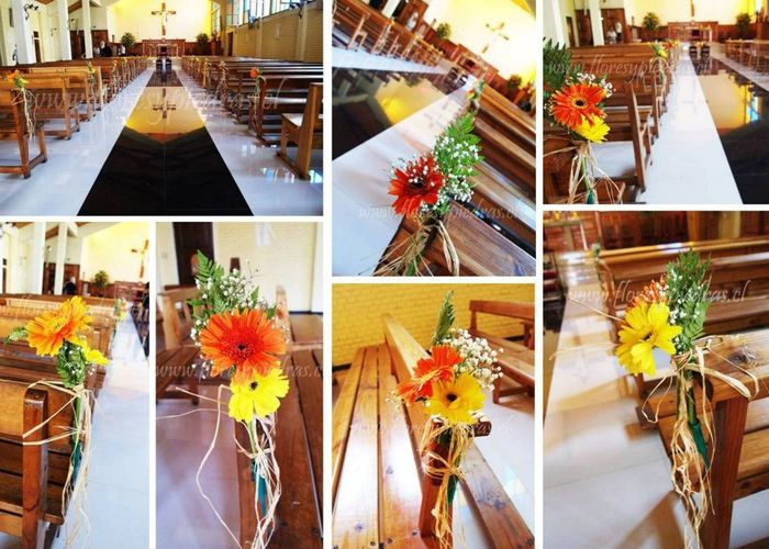 Como ser la decoraci n del camino al altar en tu boda for Decoracion hogar santiago chile
