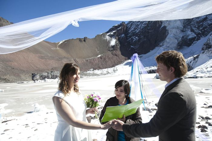 matrimonio republica glaciar