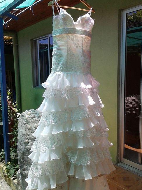 Sonar con lavar vestido de novia