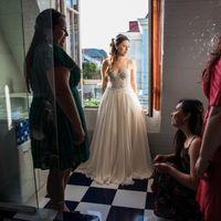 mi vestido también es Ivory