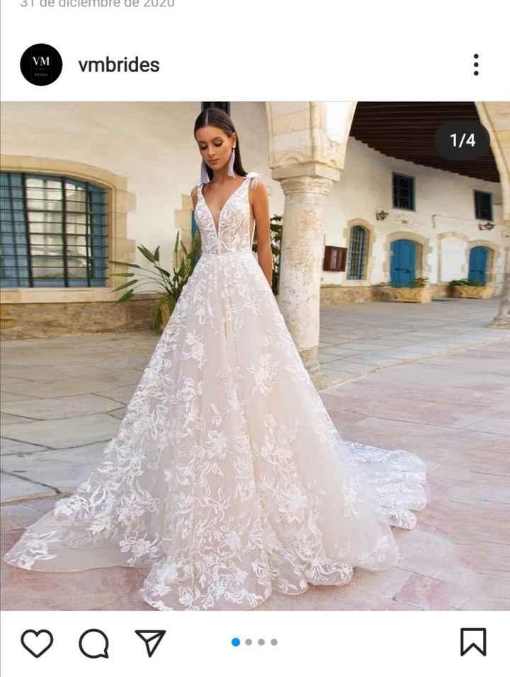 3 vestidos de novia de Nevada Novias: ¿Cuál te enamora?❤️😍 - 1