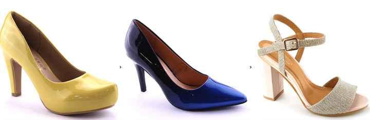 Datos de zapatos de novia de colores - 1