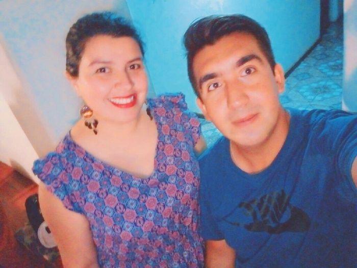 Mariela muñoz y Víctor Ortega,nuestro calendario de amor! 1