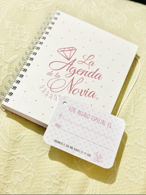 ¡¡¡la agenda de la novia!!! 👩🏻🏫 1