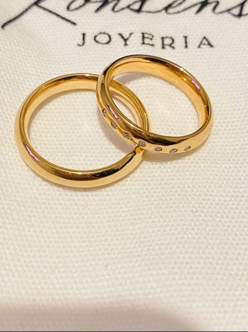 Lo prometido es deuda - Argollas de matrimonio 1