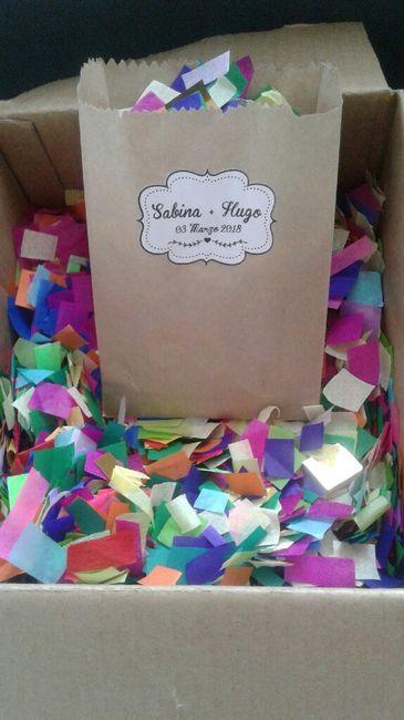 Manualidad 7 ♡ Confetti para lanzar a los novios ♡ 1