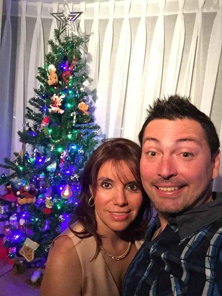 Nuestra primera Navidad juntos