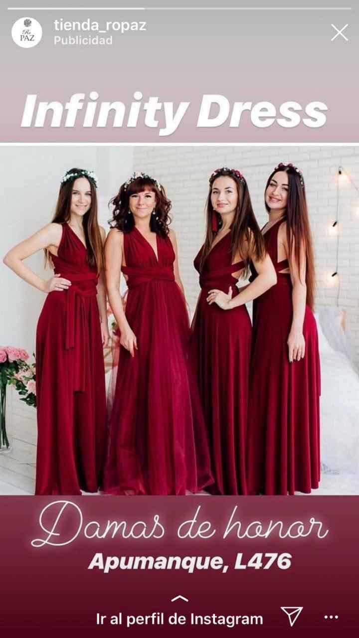 Vestidos damas de honor - 1
