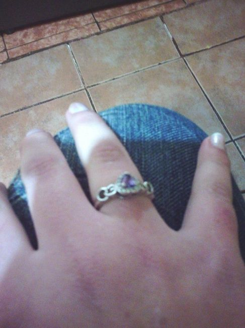 Nuestros anillos de compromiso - 1