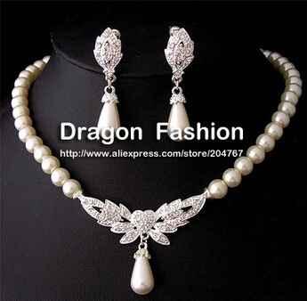 7. conjunto perlas/corazon