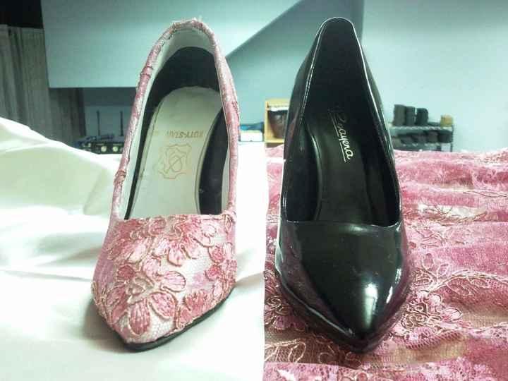 ejemplo zapatos forrados