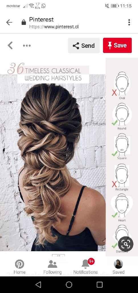 Peinados para novias que no quieren velo - 1