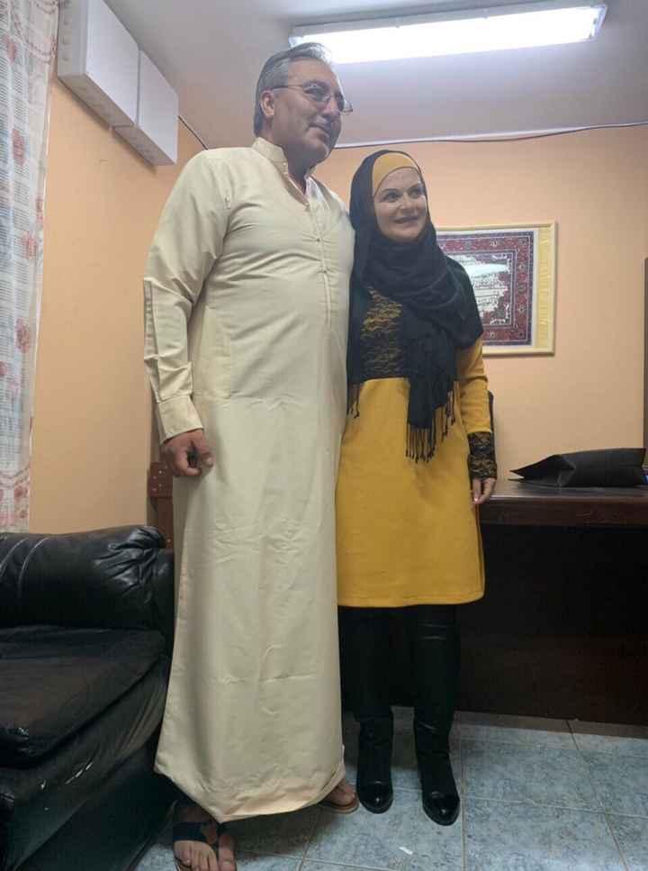 Ya con nuestra Shahada y a un mes de nuestra boda ❤️✨✨🥰🌹incha allah ❤️✨✨ - 1