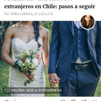 Algunaa duda para los que solo tiene cedula venezolana en chile y quieran casarce - 1