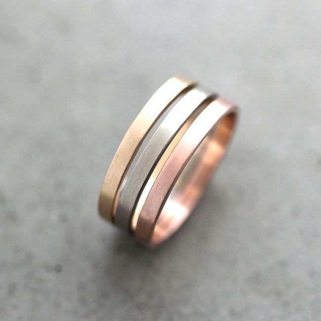09948eb633ee Cómo elegir el material de tus anillos