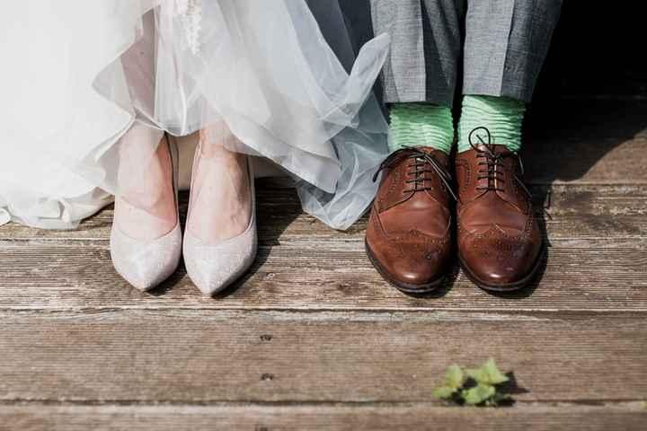 Calcetines para el novio a todo color 🌈 - 1