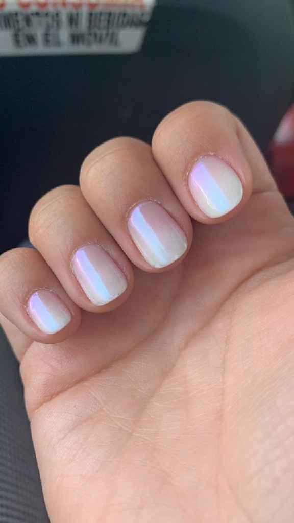 Kathy, si hoy me casara sería con esta manicure - 1