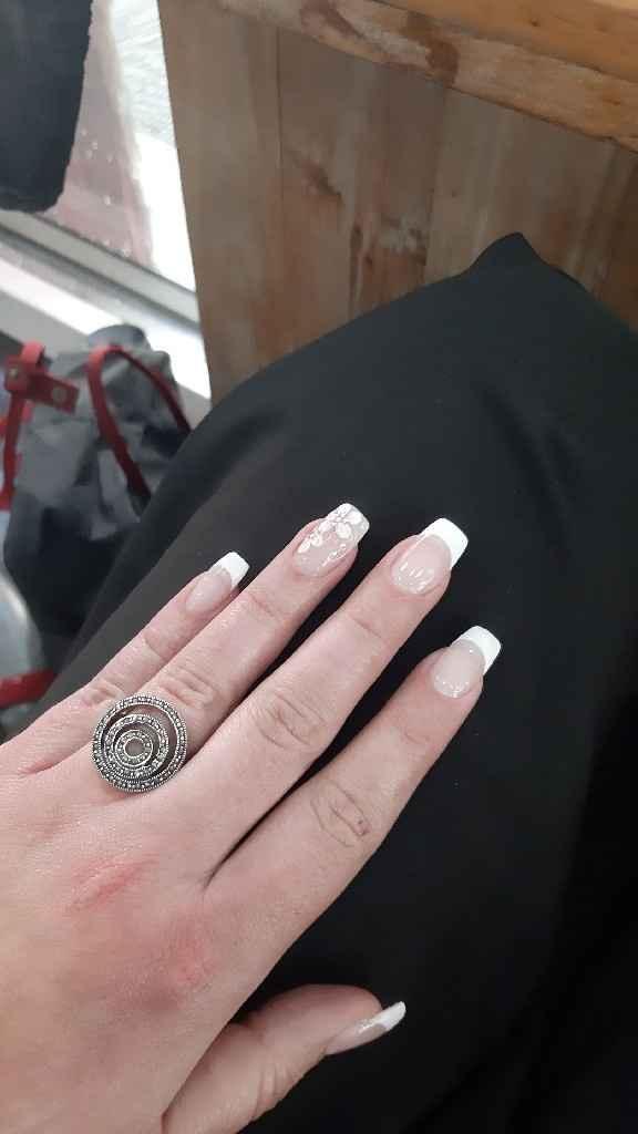 Kathy, si hoy me casara sería con esta manicure - 2