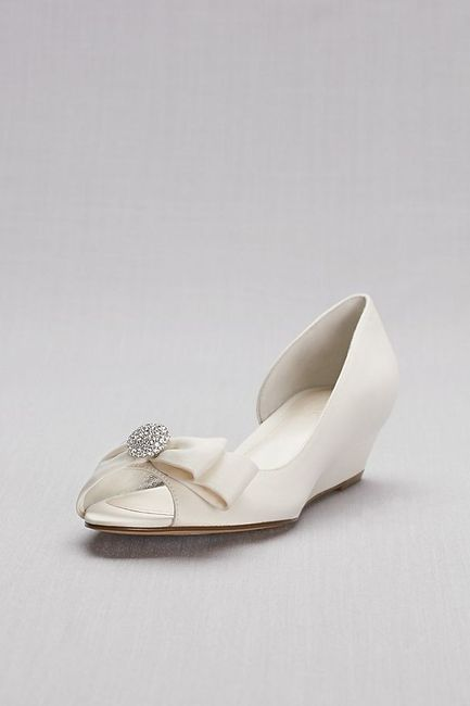 Zapatos David's Bridal