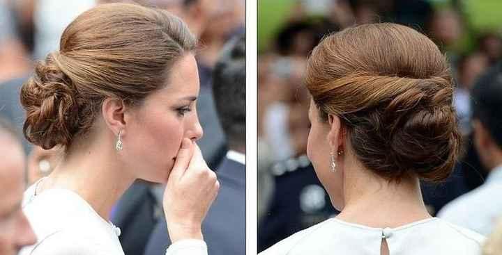 Peinado de Kate Middleton