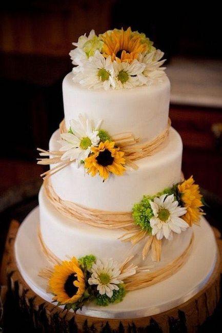 Torta: ¿blanca o de color? 5