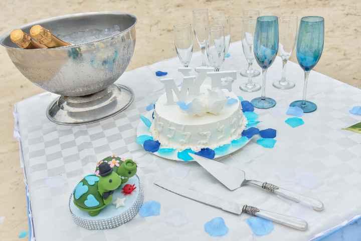 mesa de la torta