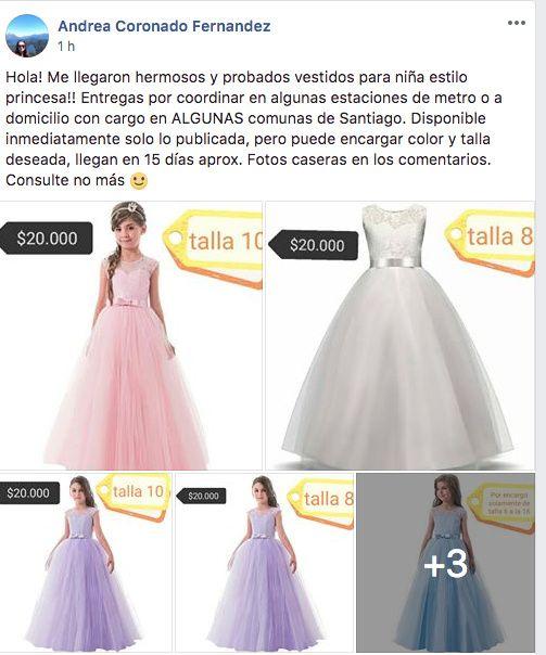 5ec06c0e7 Dato de vestidos para pajecitas