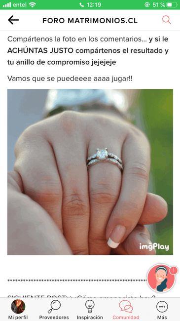 Achúntale al anillo y...¡compártenos el TUYO!💍 9