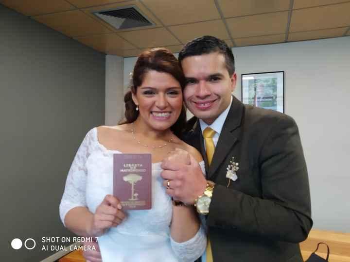 Nos casamos!❤️🥰 - 1