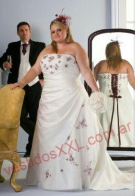 vestidos de novia extra lindas