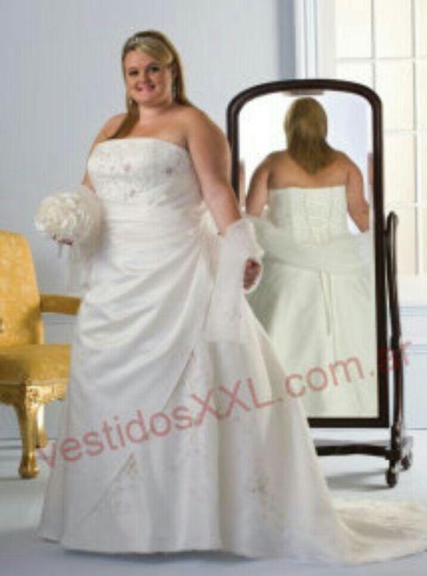vestido de novia xxl chile