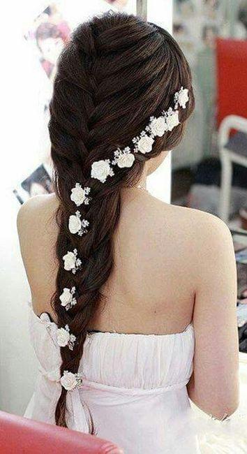Vestidos de novia peinados para ninas