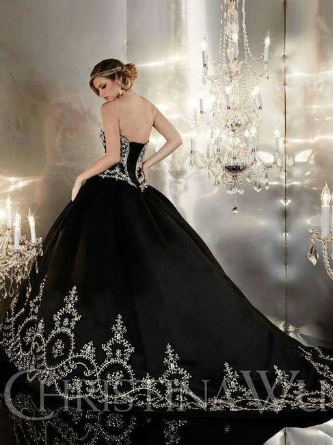 Vestidos novia con negro