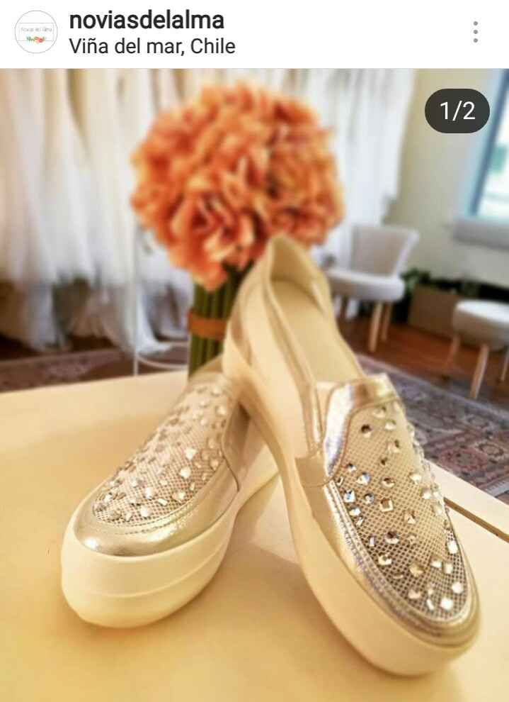 Dato de zapatillas de novia - 1